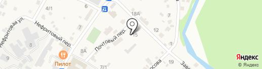 Почтовое отделение на карте Смоленщины