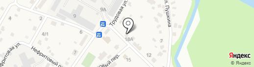 Магазин строительных и отделочных материалов на карте Смоленщины