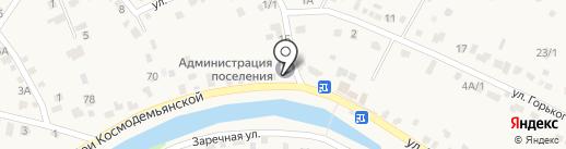 Смоленско-Марковское кладбище на карте Смоленщины