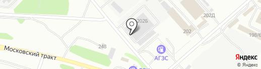 ВИЗОР на карте Иркутска
