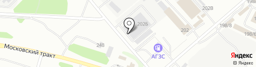 СЧАСТЬЕ РЯДОМ на карте Иркутска
