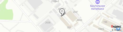 Строймаркет Домострой на карте Иркутска