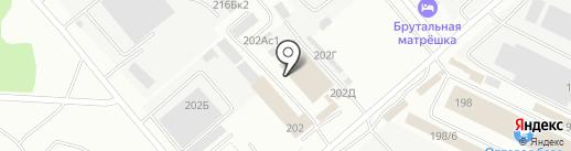 Домострой на карте Иркутска