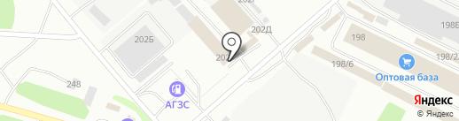 САНТЕХ БАЙКАЛ на карте Иркутска