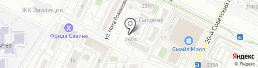 Логопедический кабинет на карте Иркутска