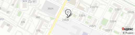 Миндаль на карте Иркутска