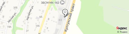Аварийное бюро экстренной помощи на карте Смоленщины