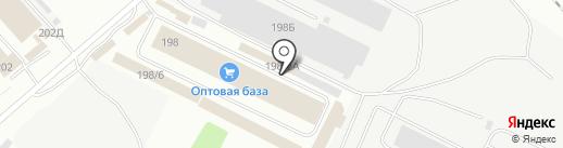 Горка на карте Иркутска