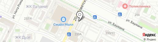 Мастерская по ремонту обуви на карте Иркутска