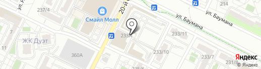 Домашний текстиль на карте Иркутска