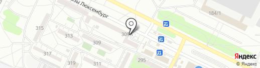 Березовский мясокомбинат на карте Иркутска
