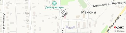 Фельдшерско-акушерский пункт на карте Мамон