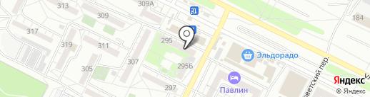 Риелторско-юридический центр на карте Иркутска
