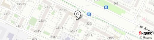 Акела на карте Иркутска
