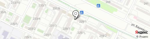 Сан-Рема+ на карте Иркутска