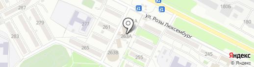 Формула 50 сортов на карте Иркутска