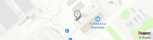 БАЙКАЛ-КАМАЗ-ЦЕНТР на карте Иркутска