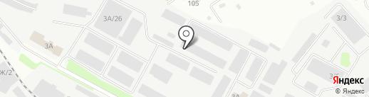 Авер на карте Иркутска