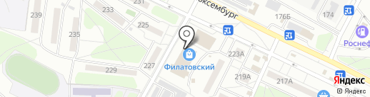 Ларек на карте Иркутска
