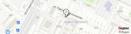 Четыре суши на карте Иркутска