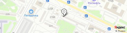 Калейдоскоп на карте Иркутска