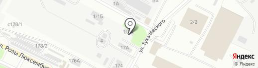 Фея на карте Иркутска