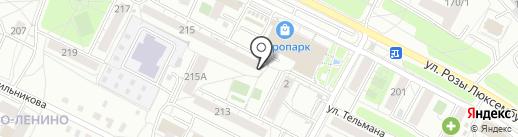 Адвокатский кабинет Устюгова В.А. на карте Иркутска