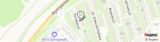 БрюнетКА на карте Марковой