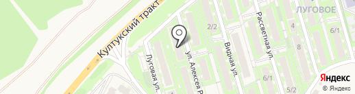 Гастроном на карте Марковой