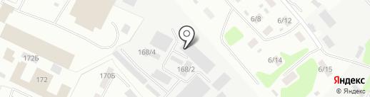 Стрейч-Лайт на карте Иркутска