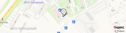 Поликлиника на карте Марковой