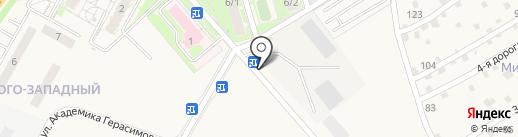 Продуктовый киоск на карте Марковой