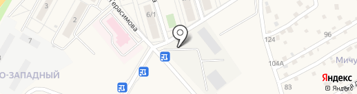 Магазин смешанных товаров на карте Марковой