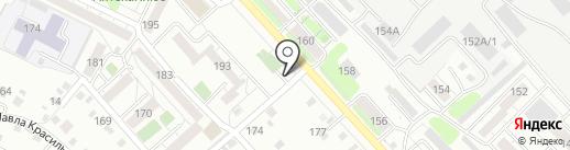 Караван АТП на карте Иркутска