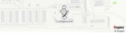 Столярка и К° на карте Марковой