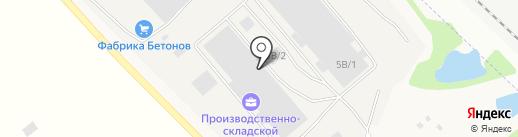 ДЕЛЮКС М на карте Марковой