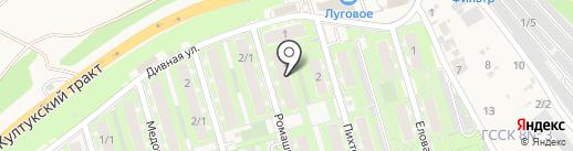 Стриж на карте Марковой