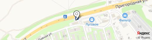 Pizza на карте Марковой