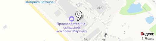 Эм-Си Баухеми на карте Марковой