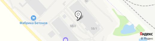 Тент-Иркутск на карте Марковой