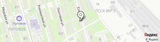 Аирмаг на карте Марковой