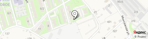 Луговое на карте Марковой
