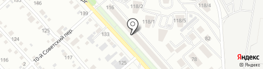 999 на карте Иркутска