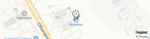 МОМск на карте Иркутска