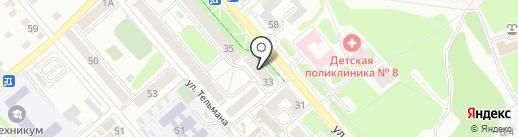 Ювелирная мастерская на карте Иркутска