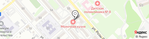 Магазин хозяйственных товаров на карте Иркутска