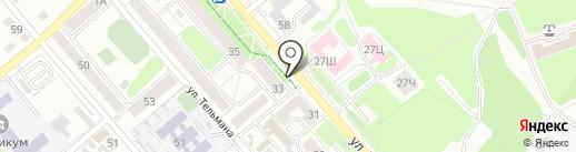 Отличные наличные на карте Иркутска