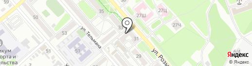 Сияние на карте Иркутска
