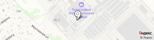 Еврошкаф Иркутск на карте Иркутска