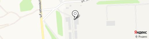 Агросмоленское на карте Марковой